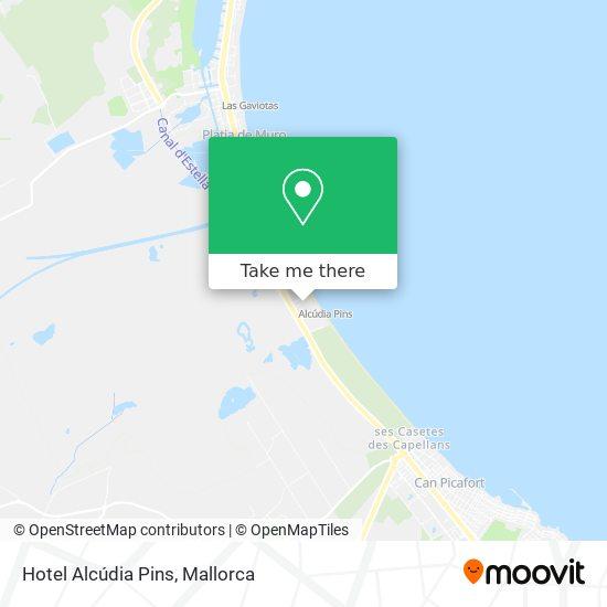 Hotel Alcúdia Pins Karte