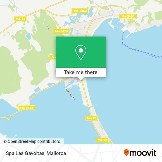 Spa Las Gavoitas Karte