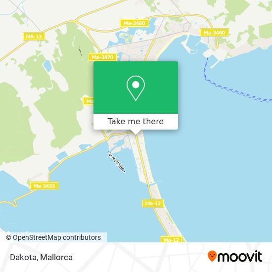 Dakota Karte