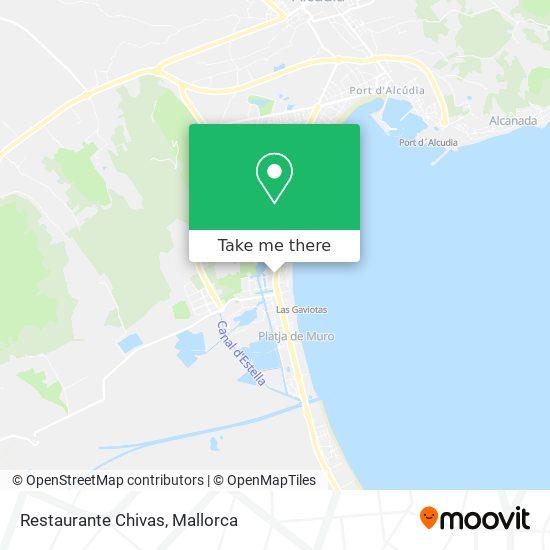Restaurante Chivas map