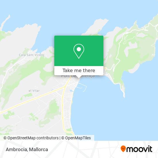 mapa Ambrocia