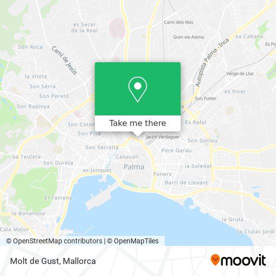 mapa Molt de Gust
