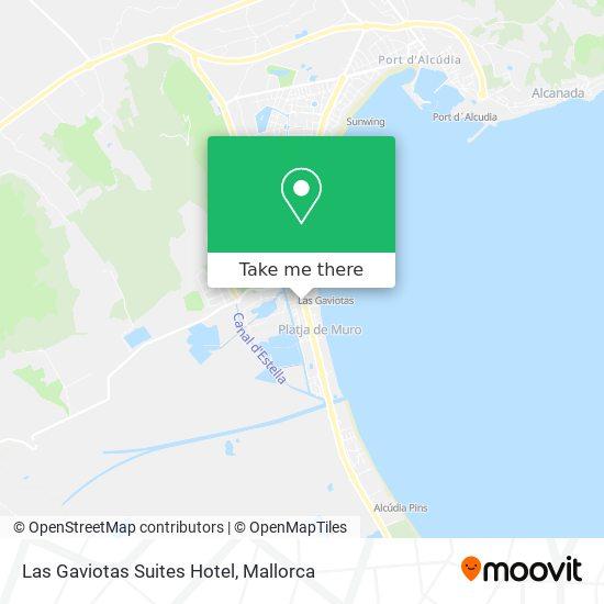 Las Gaviotas Suites Hotel Karte