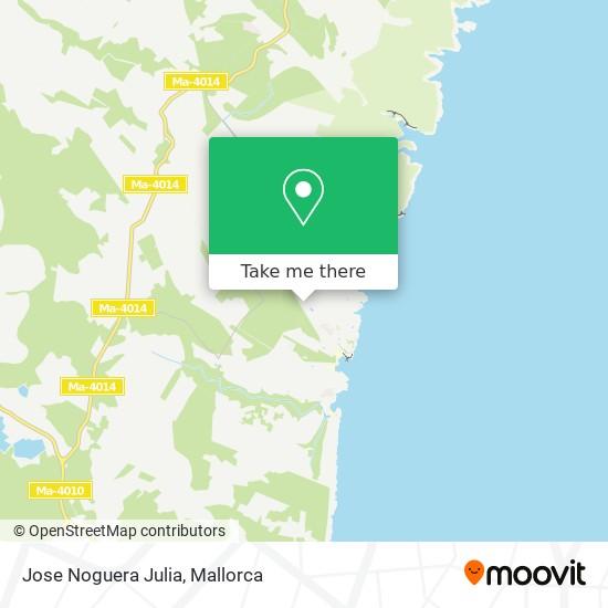 Jose Noguera Julia map