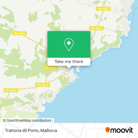 Trattoria dil Porto plan