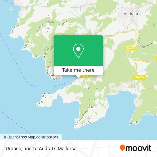 Urbano, puerto Andratx plan