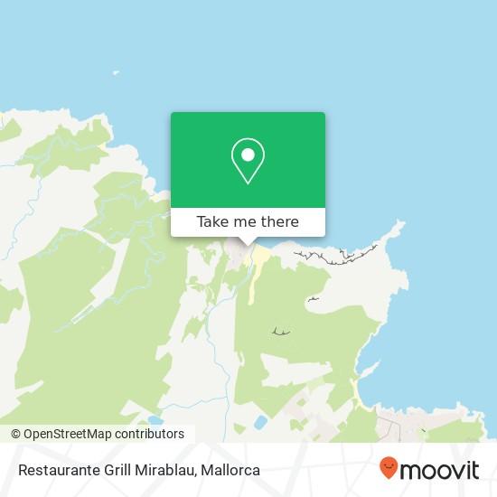 Restaurante Grill Mirablau Karte