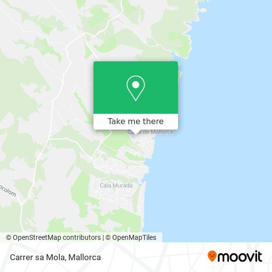 Carrer sa Mola map