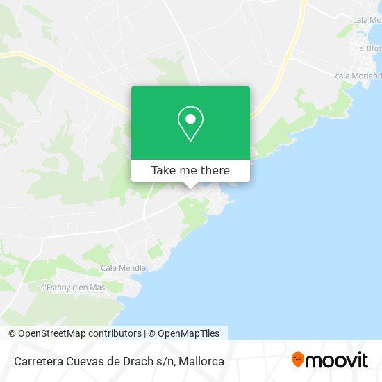 Carretera Cuevas de Drach s/n plan
