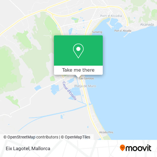 Eix Lagotel Karte