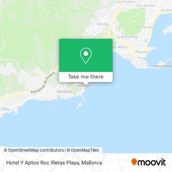 Hotel Y Aptos Roc Illetas Playa plan
