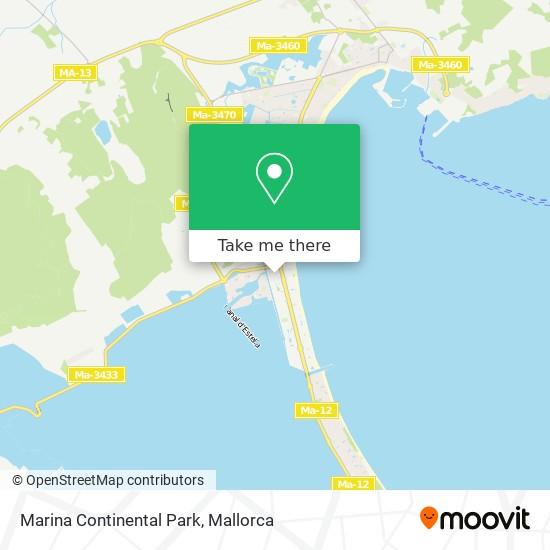 Marina Continental Park Karte
