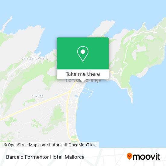 Barcelo Formentor Hotel map