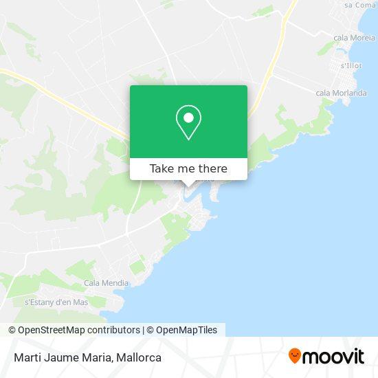 Marti Jaume Maria plan