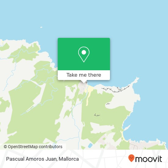 mapa Pascual Amoros Juan