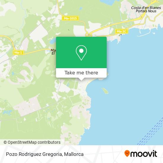Pozo Rodriguez Gregoria plan