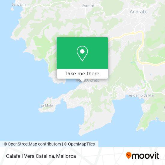 Calafell Vera Catalina plan