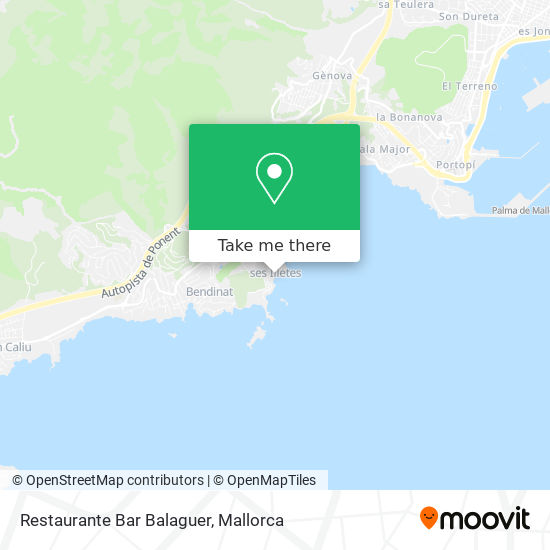 Restaurante Bar Balaguer plan