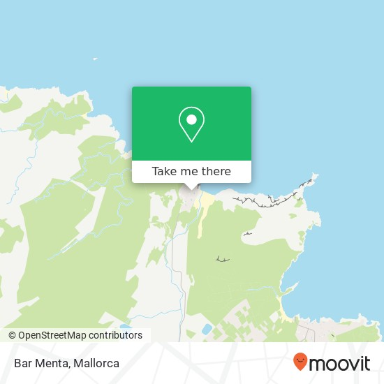 Bar Menta, Via Marina 07589 Cala Mesquida Capdepera Karte