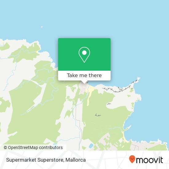 Supermarket Superstore Karte