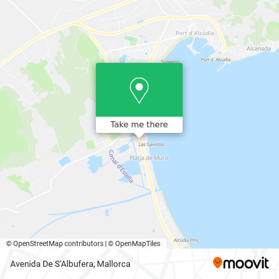 Avenida De S'Albufera map