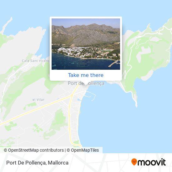 mapa Port De Pollença