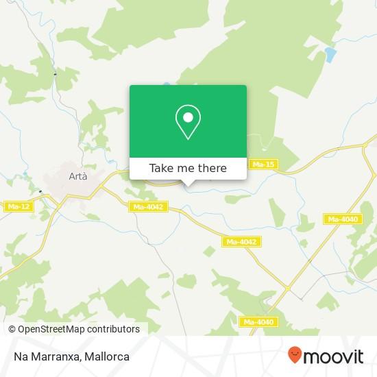 mapa Na Marranxa