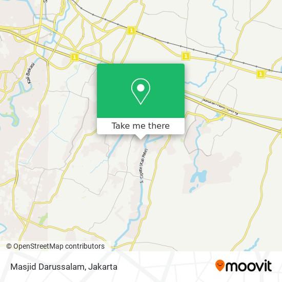 Masjid Darussalam map