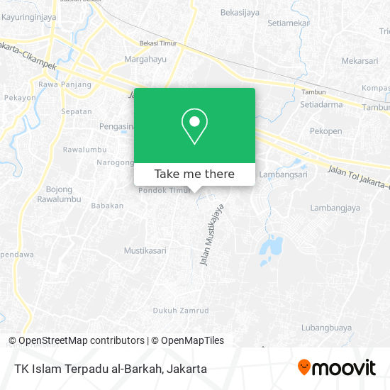 TK Islam Terpadu al-Barkah map