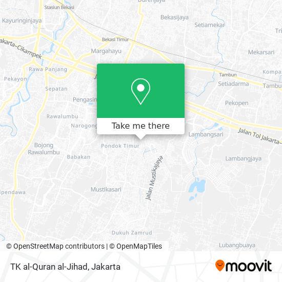 TK al-Quran al-Jihad map