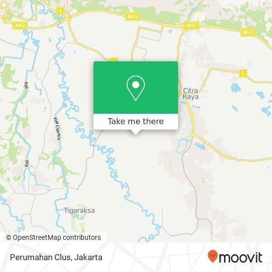 Perumahan Clus, Cikupa map