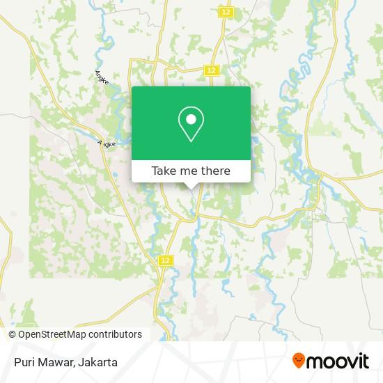 Puri Mawar map