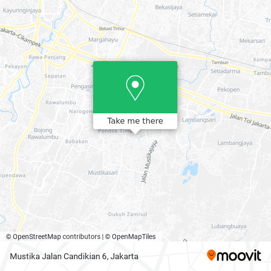 Mustika Jalan Candikian 6 map