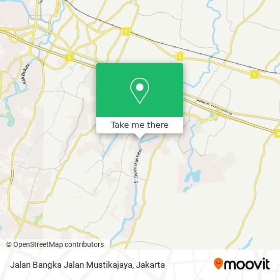 Jalan Bangka Jalan Mustikajaya map