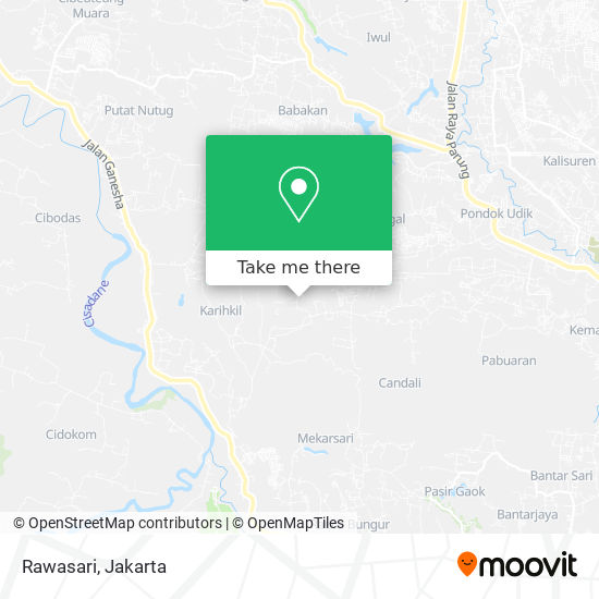 Rawasari map