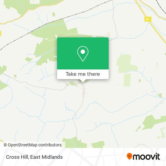 Cross Hill map