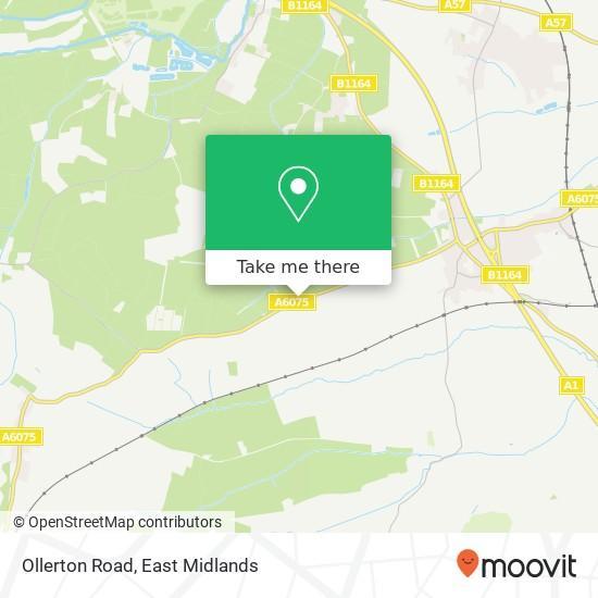 Ollerton Road map