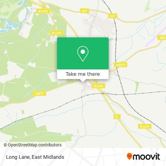 Long Lane map