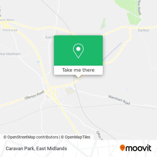 Caravan Park map