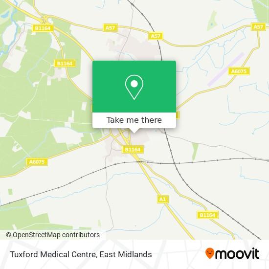 Tuxford Medical Centre map