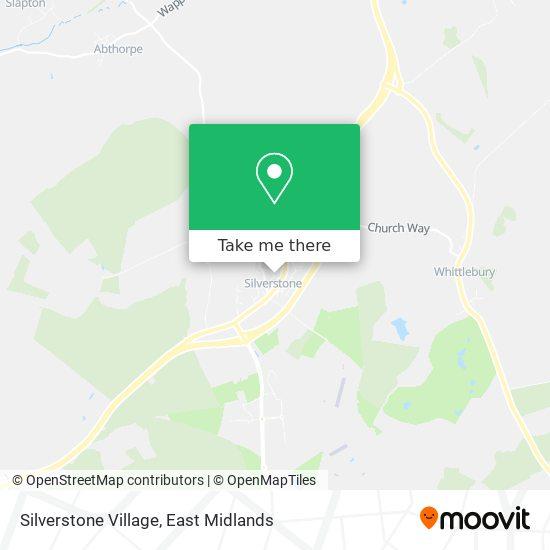 Silverstone Village map