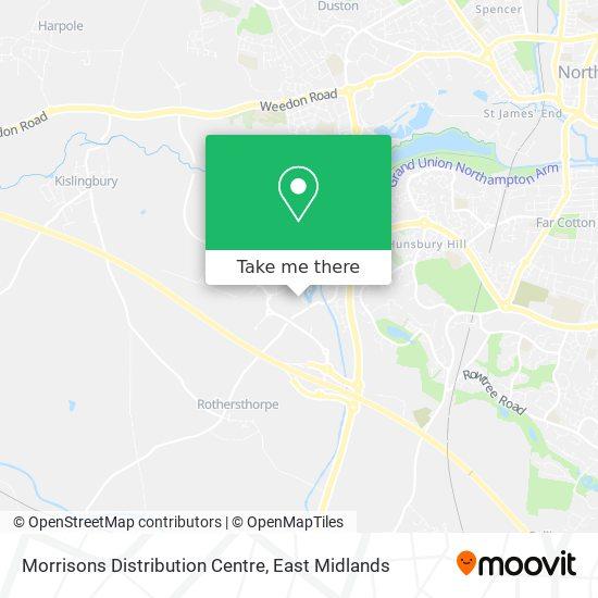 Morrisons Distribution Centre map