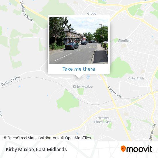 Kirby Muxloe map