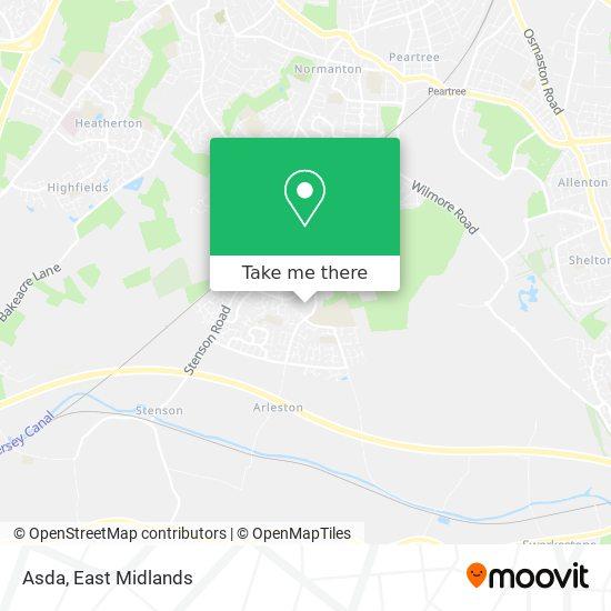 Asda map