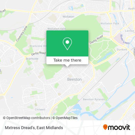 Mxtress Dread's map