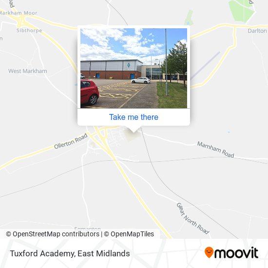 Tuxford Academy map