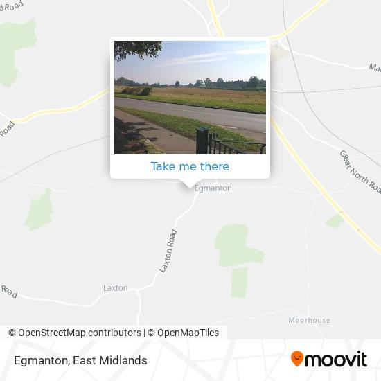 Egmanton map