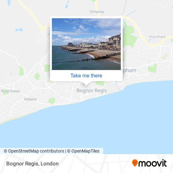 Bognor Regis map