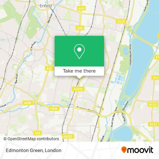 Edmonton Green map