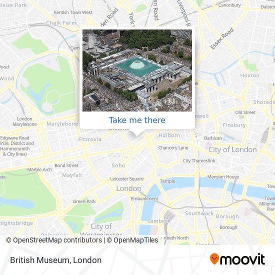 British Museum map